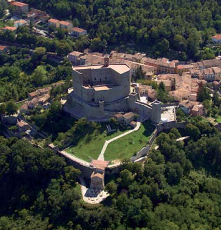 Castello di Montefioe Conca